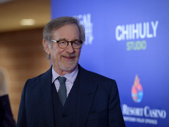 Steven Spielberg on the Red Carpet at the PSIFF Opening
