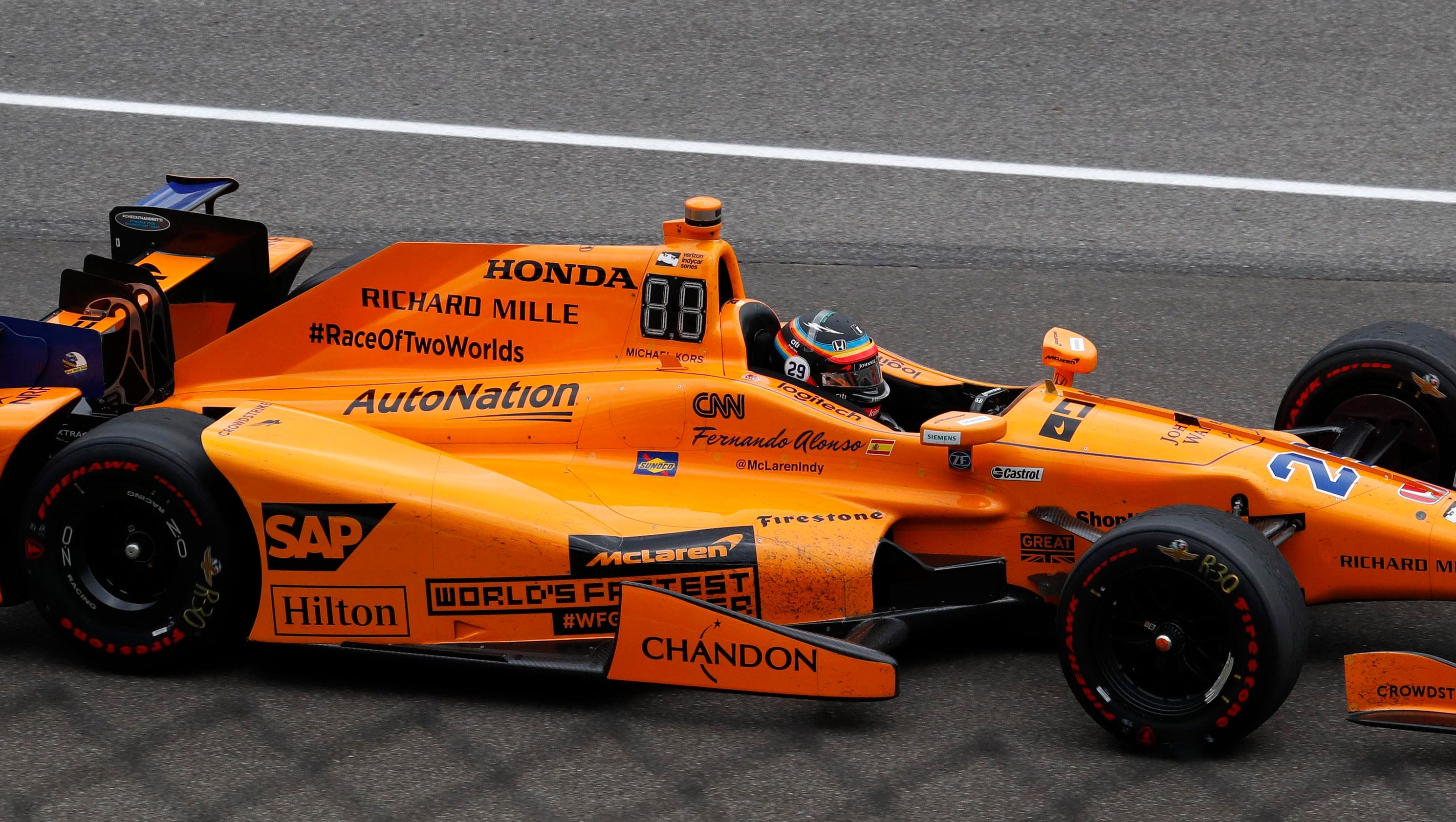 Fernando Alonso silences critics with spectacular Indianapolis 500 run