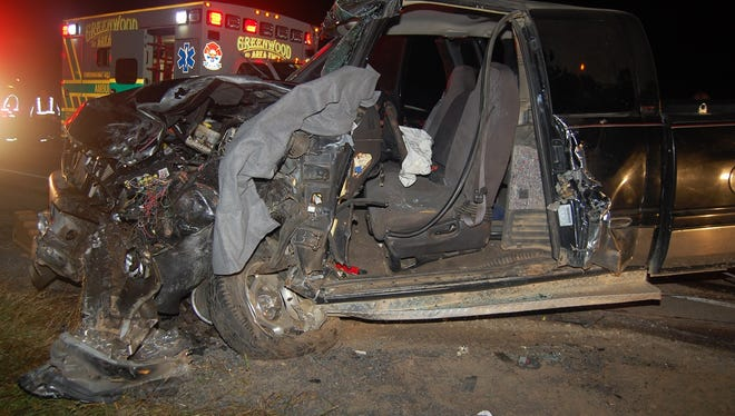 Head-on crash injures both drivers in Clark County Thursday, Sept. 24, 2015