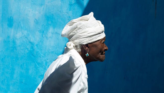 """The documentary """"Yemanjá: Wisdom from the African Heart of Brazil"""" explores the Afro-Brazilian culture known as Candomblé through the voices of four dynamic female elders. Pictured is Mãe (Mother) Filhinha of Yemanjá-Ogunté. She was 109 years old at the time."""