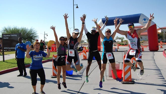 The Iron Soldier Sprint Triathlon will be Saturday at Fort Bliss' Aquatics Training Center.
