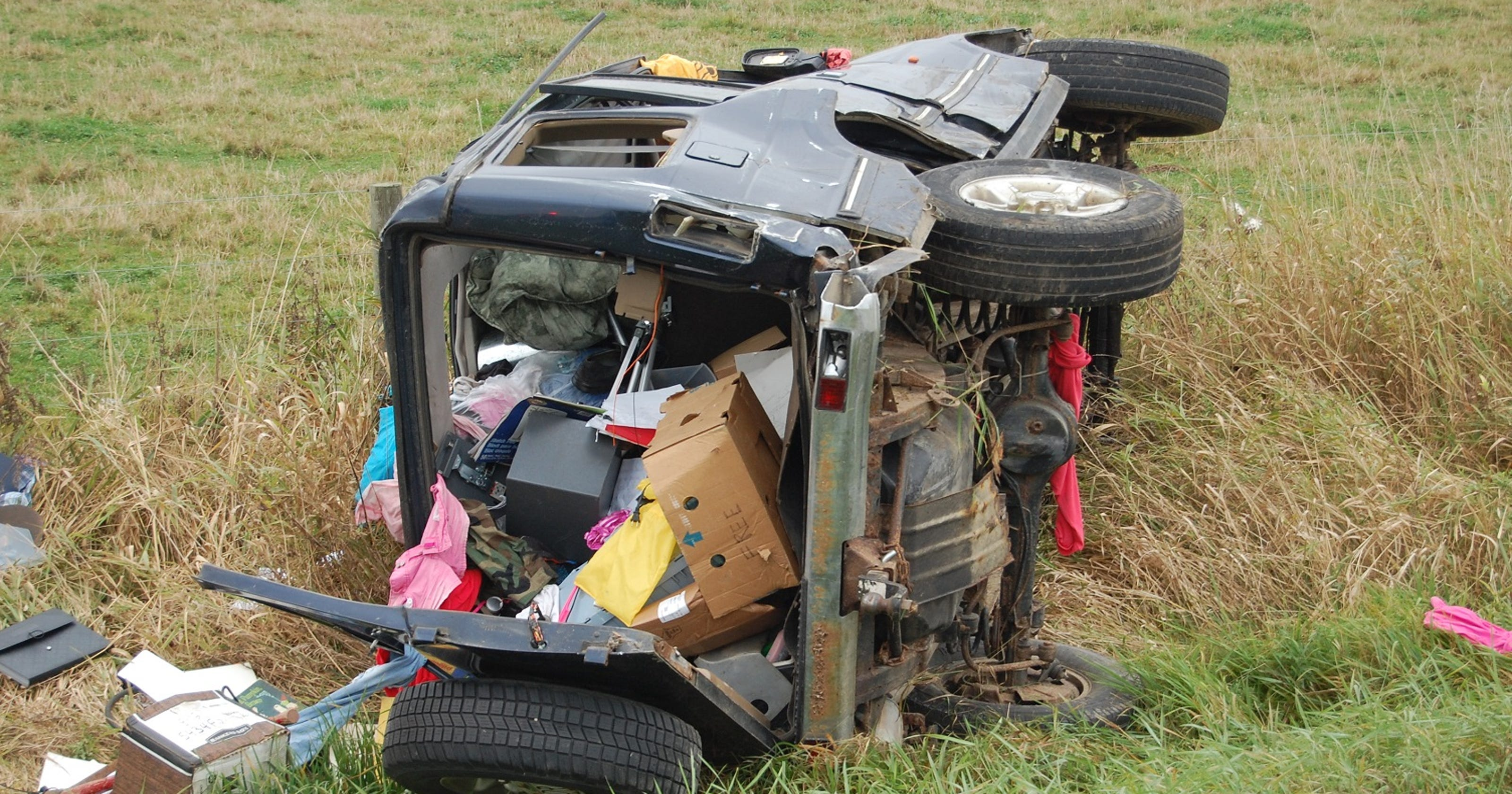 SUV hits tractor in fatal crash