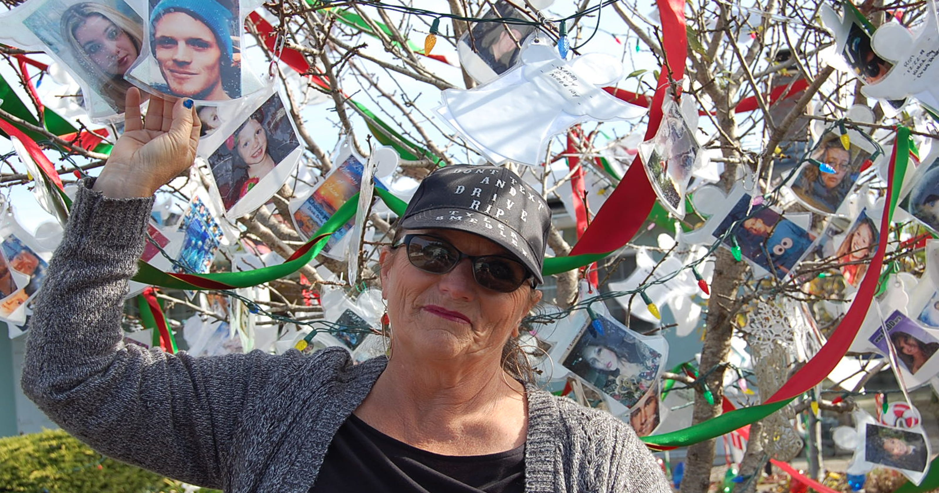 Marina woman memorializes nephew, others lost to distracted driving