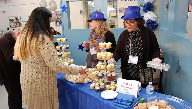 Salinas Adult School students and visitors enjoyed the 100th-anniversary celebration of the school Thursday.