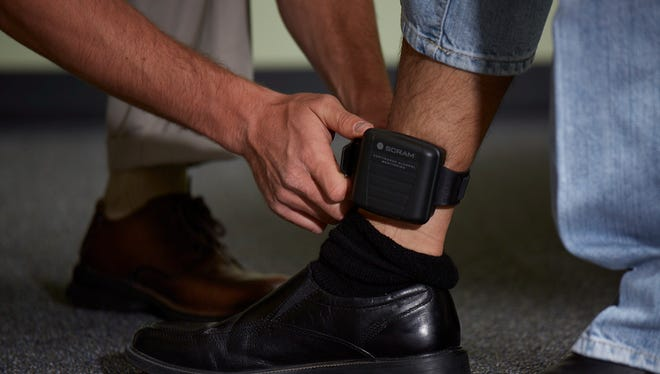 Monitoring bracelets are by far the most intensive tool, continuously monitoring the sweat and skin for alcohol — and reporting results in real time.