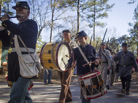 Scenes from the 39th Annual Reenactment of the Battle