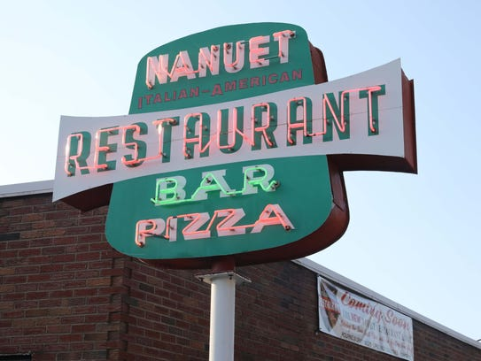 The exterior of the Nanuet Restaurant on Main Street