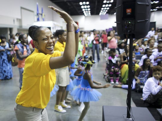 Dancers perform inside the Indiana Convention Center during last year's Indiana Black Expo Summer Celebration