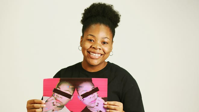 Lehigh Acres Senior High School graduate Vyctoria Smith is an artist and will be attending Florida SouthWestern State College.