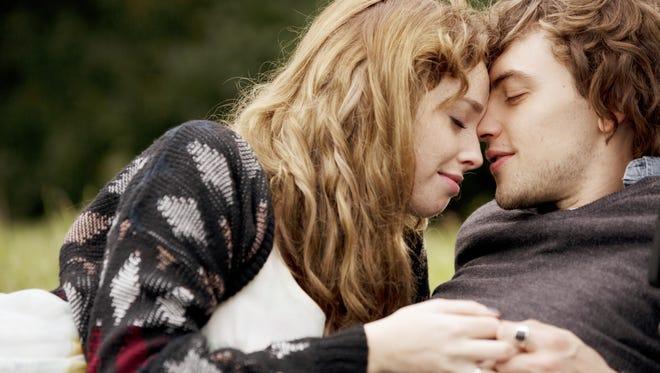 "Freya Mavor and Josh Whitehouse bond in ""Modern Life is Rubbish."""