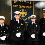 Denville Volunteer Fire Department swears in officers