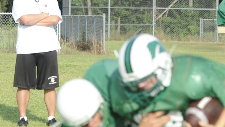 High school football: Perrin settles in at quarterback at A-B with season under belt