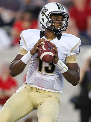 Justin Holman and Central Florida hope to extend their winning streak to three against BYU.