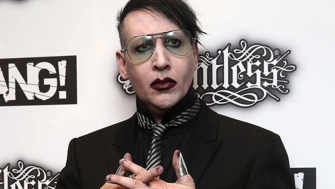 Marilyn Manson attends the Relentless Energy Drink Kerrang! Awards at the Troxy on June 11, 2015 in London, England.