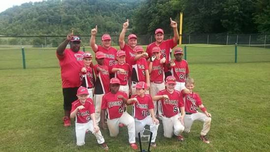 The Asheville Storm youth baseball team.