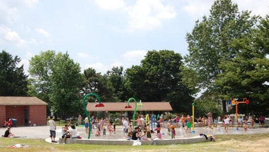 Your family will love running around through the hoses and sprinklers at Fairmount Park's Splash Pad in Red Lion.