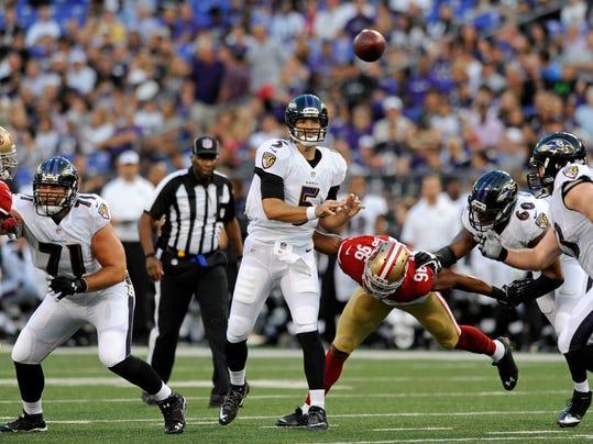 49ers Ravens Football