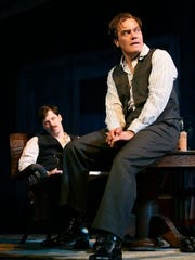 Michael Shannon, right, appears with John Gallagher