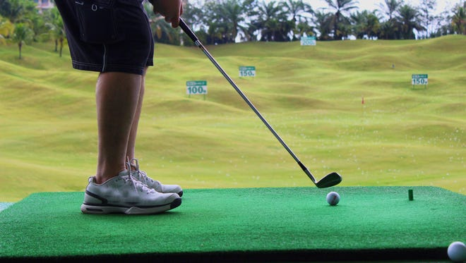Golfers should practice more than long drives at a driving range.