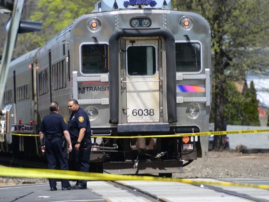 Two people struck by train