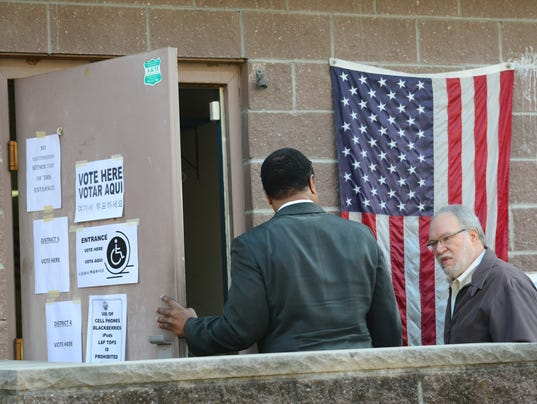 Voting in Teaneck