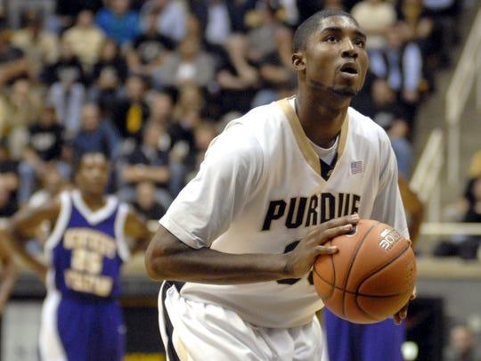 Purdue guard E'Twaun Moore