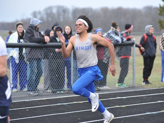 Wynford's Alizhah Watson was named track MVP after breaking two records at the N10 meet.