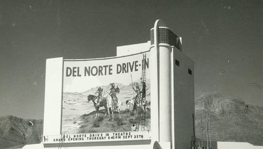 Del Norte Drive-In Theater, Alamogordo Highway