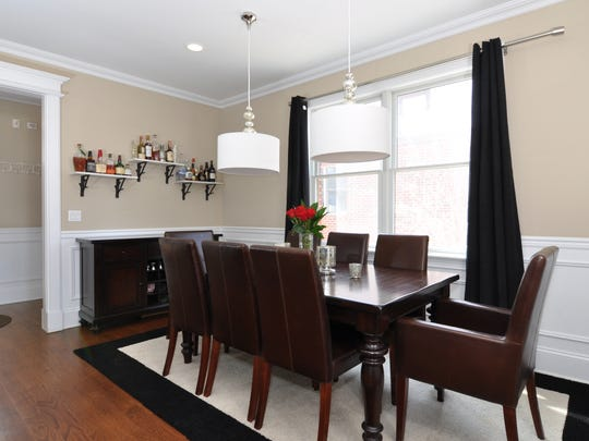 Dining area of the house at 87 Tuckahoe Ave. in Eastchester.