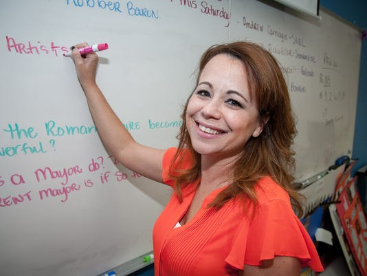 Victoria Fisk - New Mexico Charter School Teacher of the Year