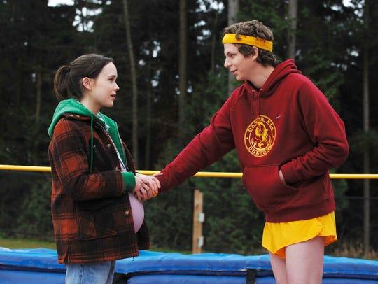 "Ellen Page and Michael Cera make a baby in ""Juno."""