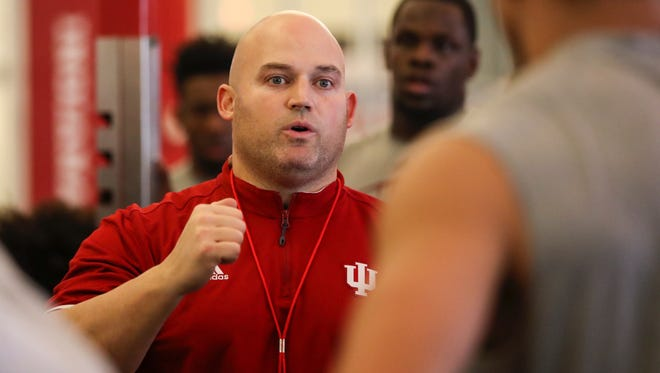 New IU strength and conditioning coach David Ballou