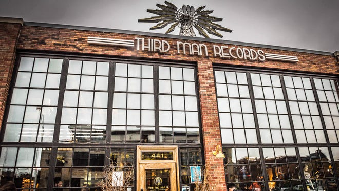 Third Man Records Cass Corridor in Detroit.