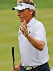 Bernhard Langer, of Germany, still playing great golf at age 60.