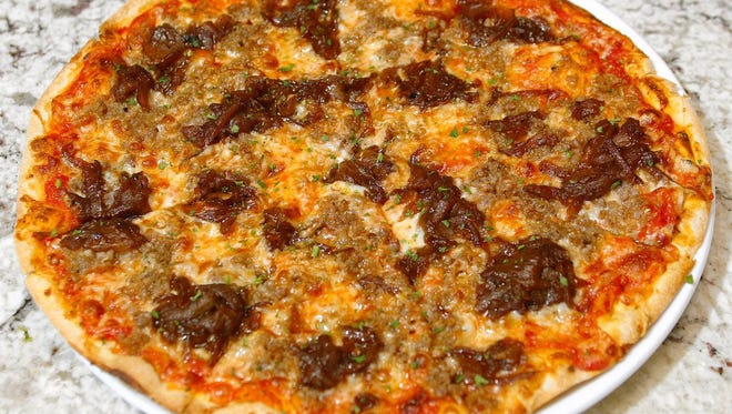 Create your own pizza topping to win contest.