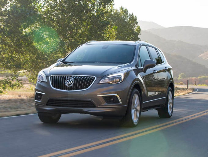 buick shows photos of chinese made envision suv for u s. Black Bedroom Furniture Sets. Home Design Ideas