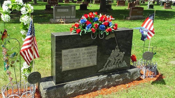 Lynn Kordus's brother John Krzmarcik was killed 47