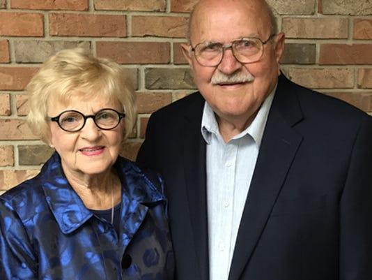 Anniversaries: Gerald Van Ginkel & Marcia Van Ginkel
