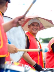 In this file photo, members of the Aklan Association of Guam perform during the Liberation Day parade.