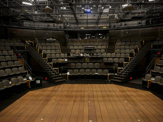 The Byrne Theater inside of the new Barrette Center