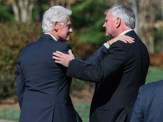 Bill Clinton, Franklin Graham