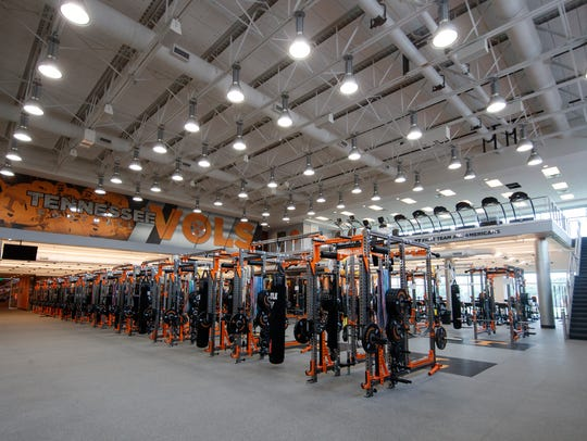 The LaPorte Strength & Conditioning Facility at Anderson Training Center underwent a $660,000 renovation this spring.