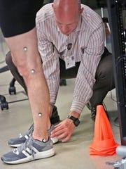 Frame, Motion Analysis Coordinator at the Indiana University