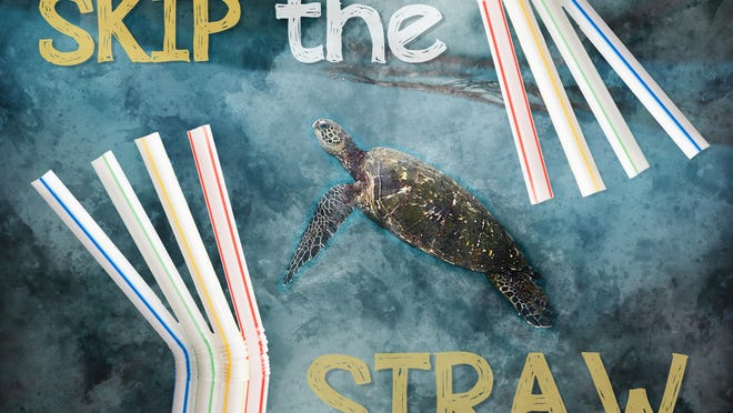 Millions of plastic straws pollute our ocean where endangered animals like sea turtles can choke on them. The average American eats out four times a week and almost everyone gets a straw (or two). If we get 25,000 people to skip the straw at restaurants every time, we can keep 5 million plastic straws out of our ocean and landfills in just one year.