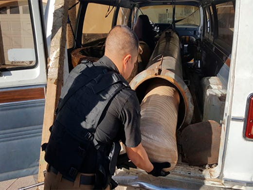 Border Patrol agents seize ultralight aircraft loaded with drugs