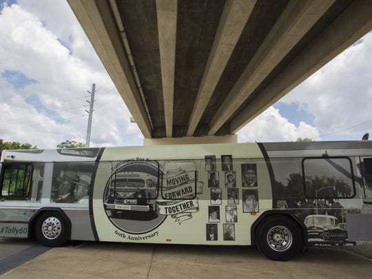 A Star Metro bus has been wrapped in honor of the Tallahassee Bus Boycott and the members of the civil rights movement that participated.