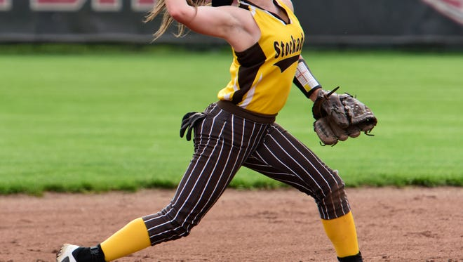Old Fort shortstop Makinsey Black earned outstanding performer honor in the Sandusky Bay Conference River Division.