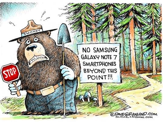Samsung fires