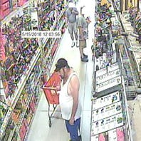 Northern York police seek help to I.D. a suspected credit card thief buying power tools