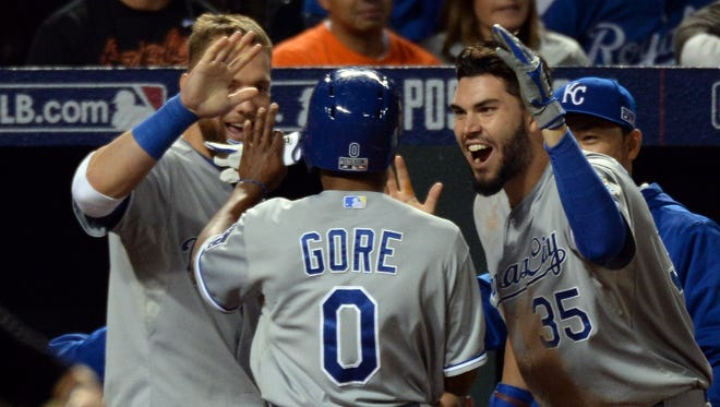 Terrance Gore does not have a major league hit to his name - but may play in his second World Series in as many years.